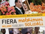 "FIERA ""MATRIMONI SOLIDALI"""