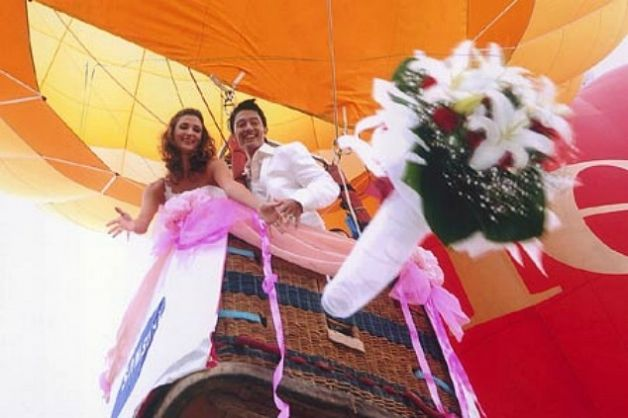 Matrimonio-in-mongolfiera