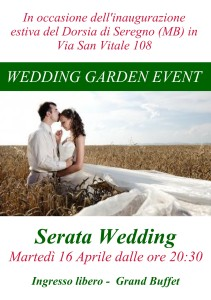 Wedding Garden Event
