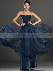 Strapless-Chiffon-A-Line-Prom-Dress-with-Sheer-Side-Detail